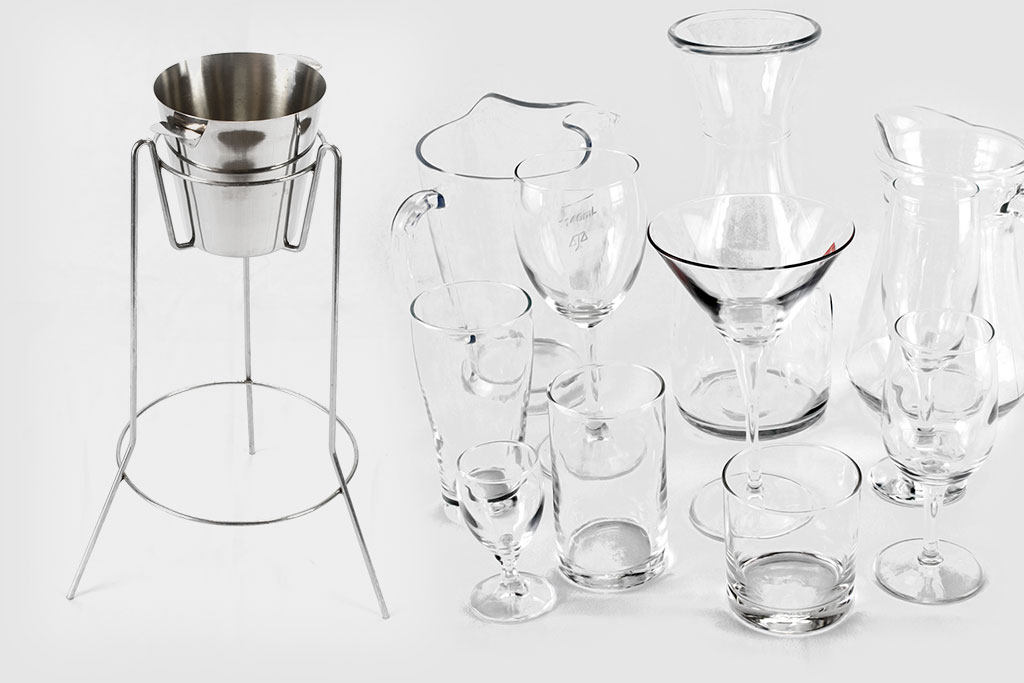 Bar & Glassware Hire