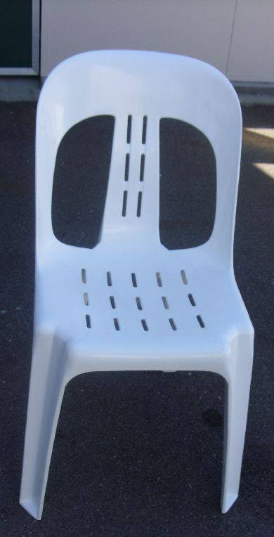 White Party Chair